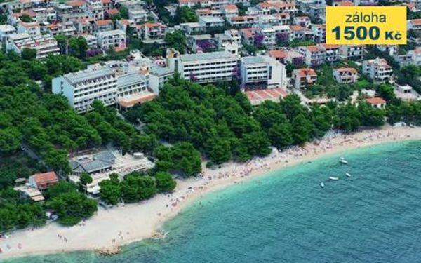 Chorvatsko, oblast Makarska, doprava vlastní, polopenze na 8 dní