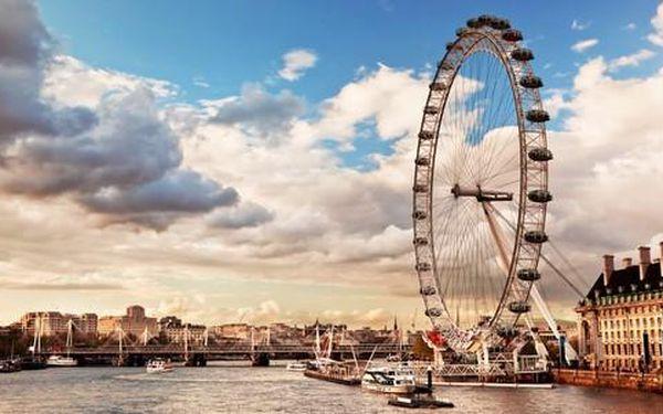 Zájezd do Londýna s prohlídkou města a filmových ateliérů, kde se točil Harry Potter2
