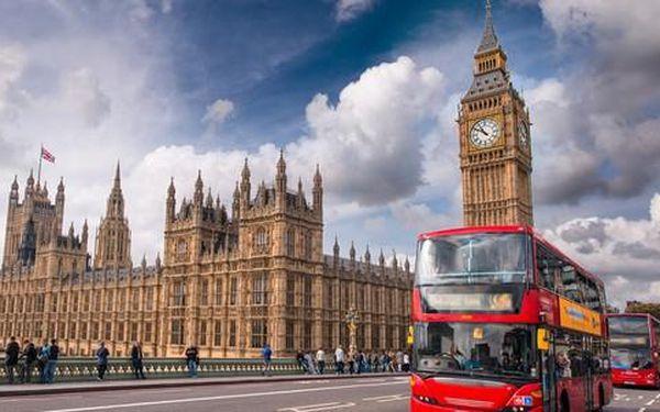 Zájezd do Londýna s prohlídkou města a filmových ateliérů, kde se točil Harry Potter3