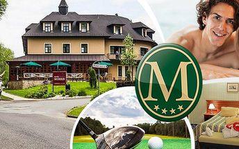 Wellness pobyt na 3 dny pro dvě osoby v luxusním Golf hotelu Morris**** s polopenzí a procedurami!!