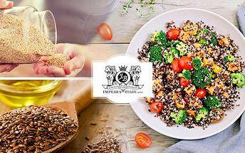 Mix zdravých semínek: Chia, Quinoa, lněné nebo sezamové a další fit dobroty! Balíčky od 1000 do 2500 g!