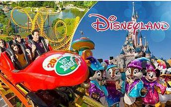 Francie! Zájezd busem včetně průvodce pro 1 osobu do Disneylandu + termální lázně v Německu! Duben - červenec!