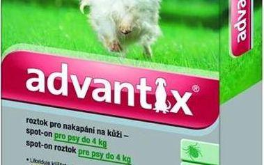 Bayer Advantix Spot - On 1 x 0,4 ml (pes do 4kg)
