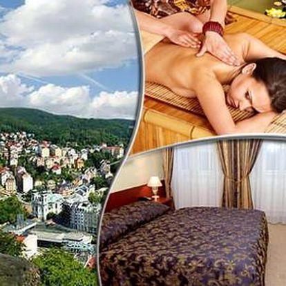 Lázeňský pobyt v hotelu Petr*** s výhledem na Mlýnskou kolonádu