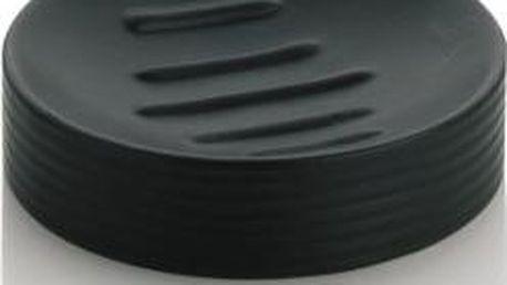 Miska na mýdlo GROOVE černá KELA KL-20795
