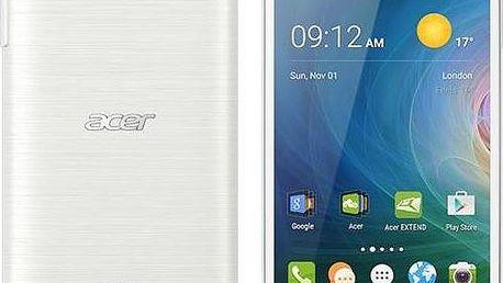 Acer Liquid Z530 16 GB DualSIM (HM.HQYEU.001) bílý + dárek SIM s kreditem T-mobile 200Kč Twist Online Internet (zdarma)+ dárek Voucher na skin Skinzone pro Mobil CZ + Doprava zdarma