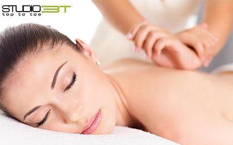 Lymfatická ruční masáž od zdravotní sestry pro dámy
