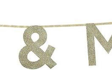 Girlanda Mr & Mrs, 3 m
