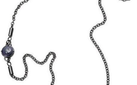 Diesel Pánský ocelový náhrdelník s přívěsky DX0883060