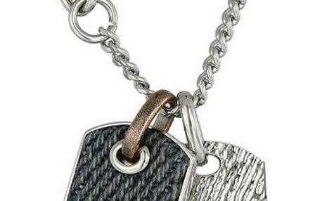 Diesel Pánský ocelový náhrdelník s přívěsky DX0916040
