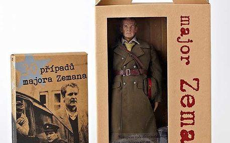 Sběratelská figurka majora Zemana + DVD