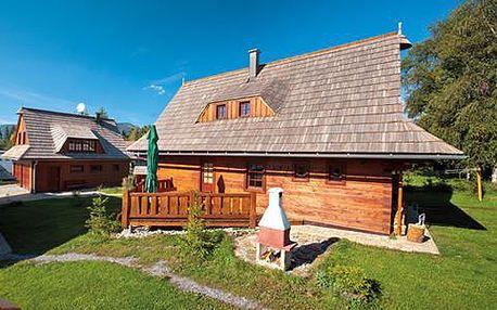 Rekreační chalupy na Liptové pro 2 nebo 6 osob + vstup do Tatralandie