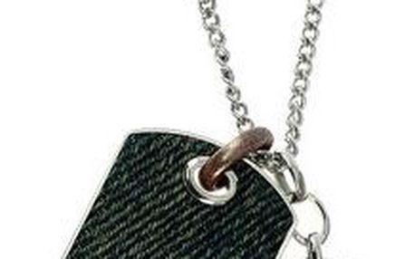 Diesel Pánský ocelový náhrdelník s přívěsky DX0917040
