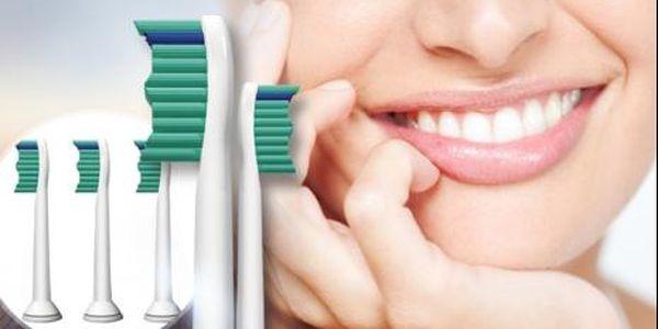 Náhradní hlavice pro elektrické kartáčky na zuby Philips - 4 až 16 kusů včetně poštovného!