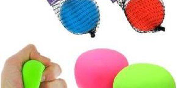 Antistresový balónek - zelená