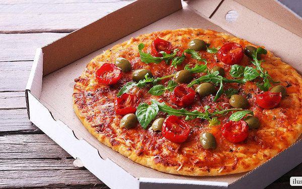 1 čerstvá pizza z denní nabídky Pizza Pappi