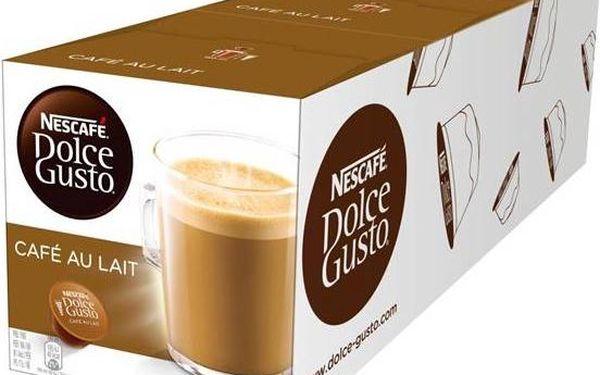 Set kapsle NESCAFÉ Cafe AuLait Dolce Gusto 3 balení