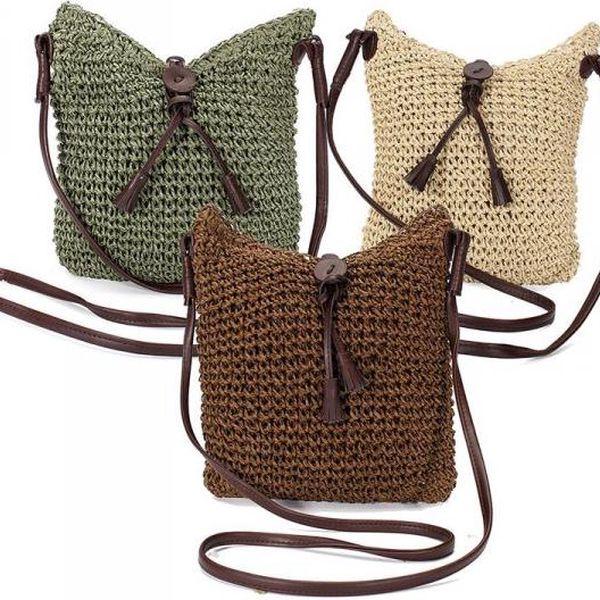 Háčkovaná dámská kabelka Hippie