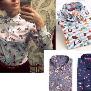 Dámská vintage košile s potiskem