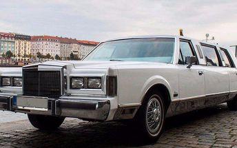 Hodinový pronájem luxusní limuzíny s řidičem