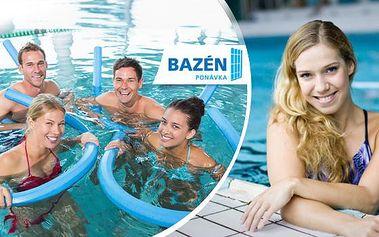 Aqua aerobik! Přenosná permanentka na 1-5 lekcí + možnost relaxace ve vířivce a hubnoucí nápoj zdarma!