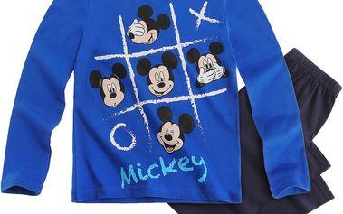 Disney Chlapecké pyžamo s Mickey Mouse - modré, 116 cm