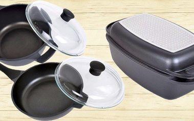 Titanové nádobí HomeDelux s nepřilnavým povrchem