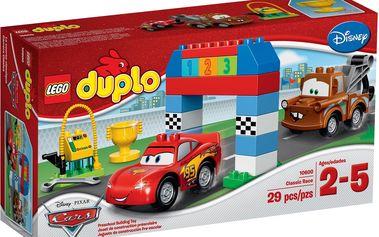 LEGO DUPLO 10600 Disney Pixar Cars™ – Klasický závod