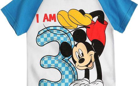 Disney Chlapecké tričko Mickey Mouse - jsou mi 3, 98 cm