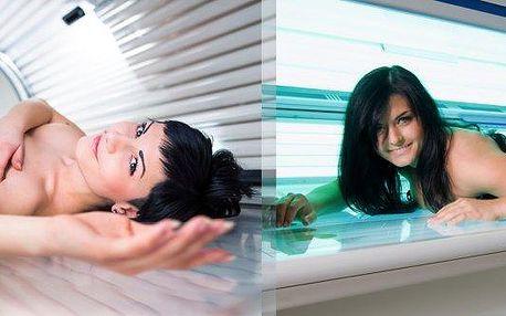 Chcete mit krásně opálené tělo?100 minut v soláriu ve Studiu Step.
