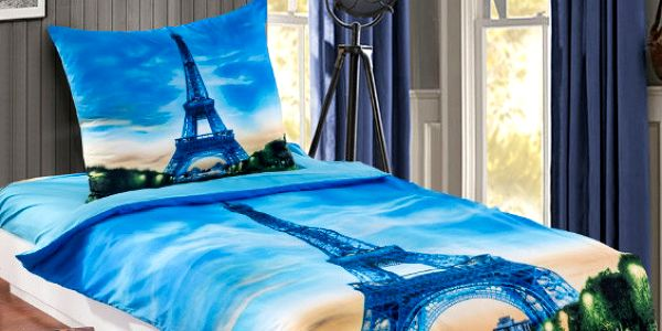 3D povlečení Eiffelovka