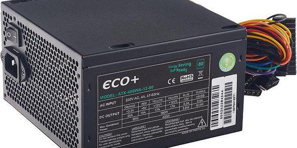 Eurocase ECO+85, 400W - ATX-400WA-12-85