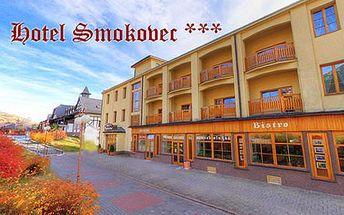 Pobyty v rodinném Hotelu Smokovec *** s vynikající polohou v centru města