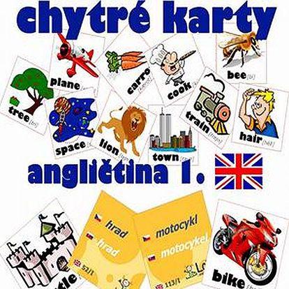 Chytré karty - angličtina, němčina, ruština nebo španělština - nejoptimálnější způsob učení.