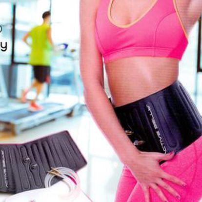 47% sleva na 45 min. cvičení s tlakovým břišním pásem s trenažérem ZDARMA ve fitness centru Hany Bany