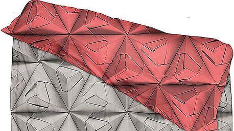 Povlečení Monogami Red, 200 x 200 cm - doprava zdarma!