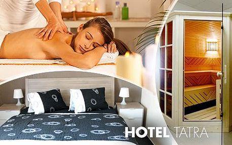 Nový Bydžov: 3 až 6 dní v Hotelu Tatra pro 2 osoby - polopenze, masáž, solná jeskyně, sauna a bowling!