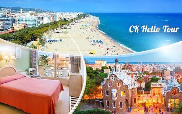 Španělsko, Calella: 10denní zájezd busem pro 1 osobu! 7 nocí v hotelu***, polopenze, bazén a výlety, 17.-26.6.