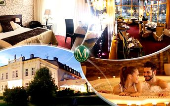 Hotel Morris**** Nový Bor - 5denní relax pro 2 osoby včetně polopenze + sauna, vířivka, aquapark a solárium!