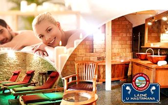 Pivní lázeň a relaxační pivní masáž pro 2 osoby + 2x velké pivo! Luxusní lázně U Hastrmana v Počernicích