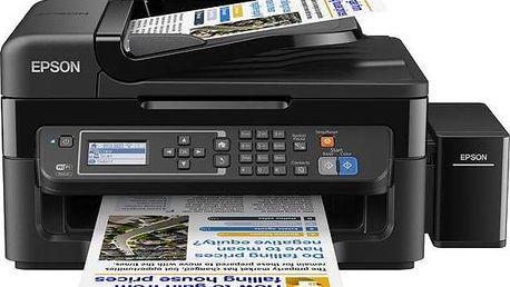 Tiskárna multifunkční Epson L565 (C11CE53401) černá + Doprava zdarma