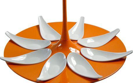 Servírovací set na jednohubky Entity Orange/White