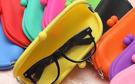 Silikonové pouzdro na brýle - více barev