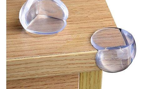 Průhledné ochrany hran stolů - 12 ks - dodání do 2 dnů
