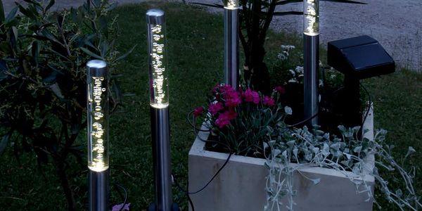 Zapichovací LED světlo na zahradu Elegance