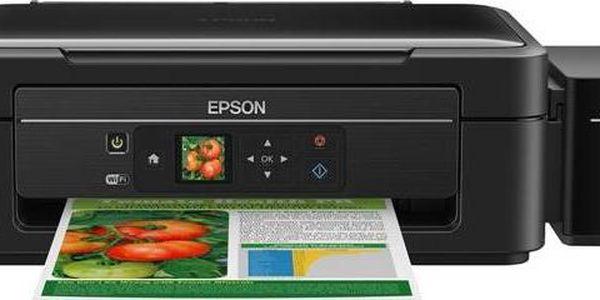 Epson L455 (C11CE24401) černá + dárek Software Microsoft Office 365 pro jednotlivce CZ (zdarma) + Doprava zdarma