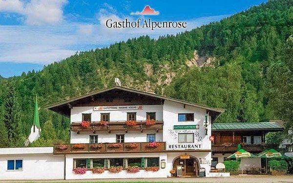 Alpy v českém penzionu s polopenzí do září