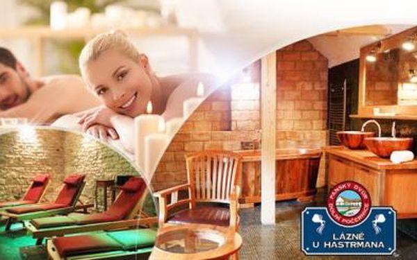 Pivní lázeň a relaxační pivní masáž pro 2 osoby + 2x velké pivo! Luxusní lázně U Hastrmana v Počernicích!