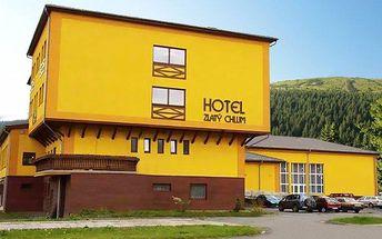 3–6denní pobyt pro dva s polopenzí a saunou v hotelu Zlatý Chlum*** v Jeseníkách