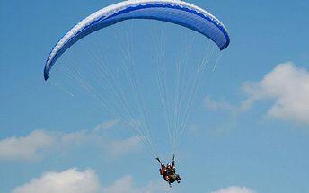 Tandemový paragliding pro 1 osobu